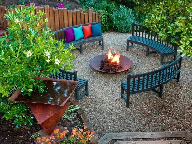 Cozy Up By The Outdoor Fire Pit
