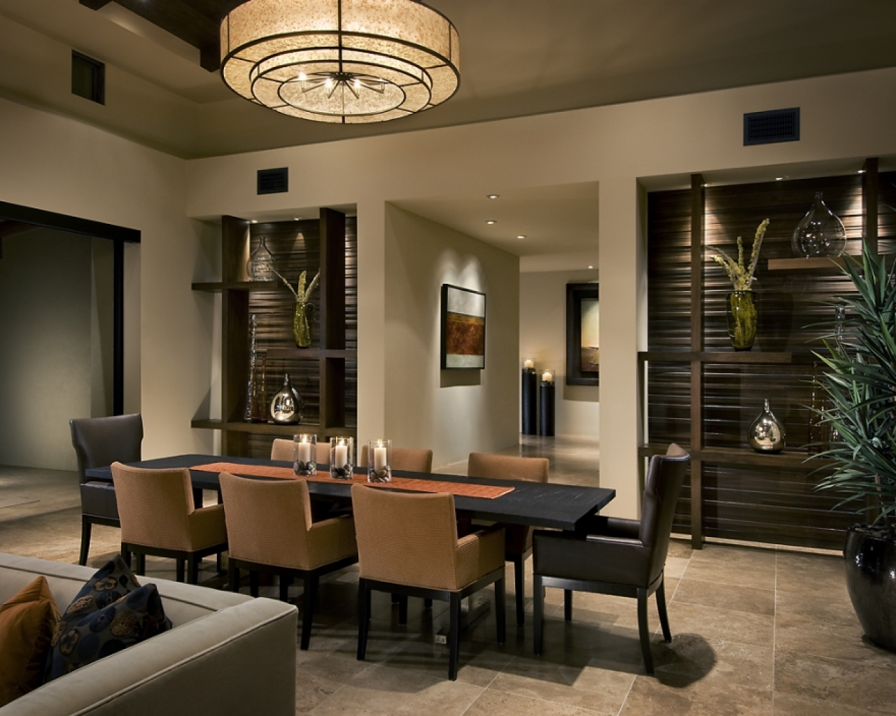Creative Contemporary Dining Room