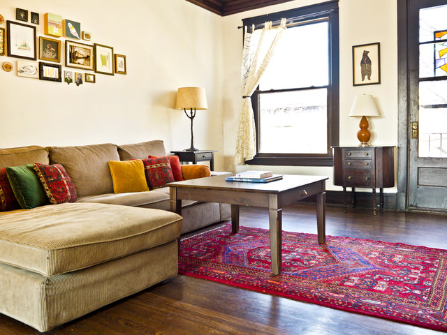 Photo Gallery of The Eclectic Living Room