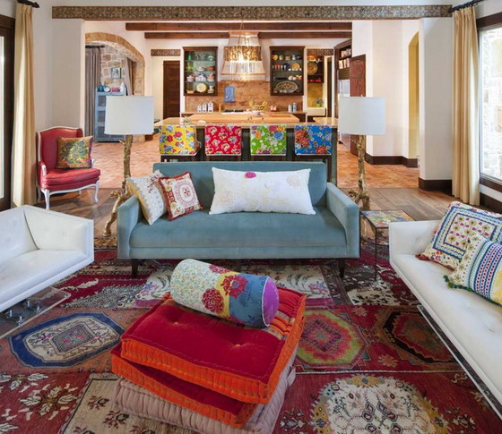 Soft-Sofa-Sets-in-Eclectic-Living-Room
