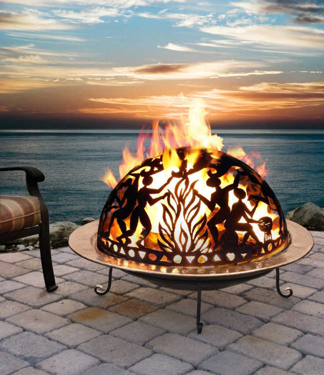 Sophisticated Portable Outdoor Fire Pit