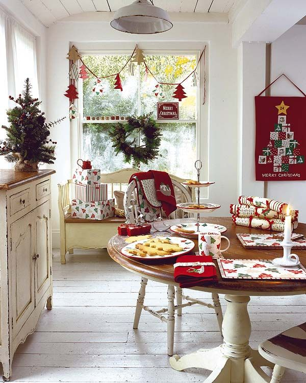 Stunning Christmas Dining Room Décor Ideas