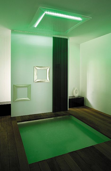 green ceilings