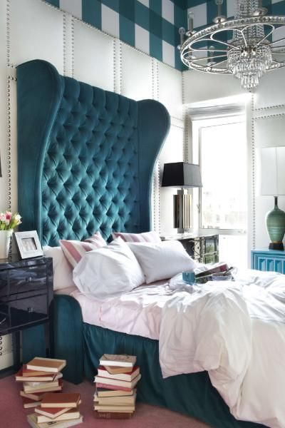 Padded walls with studs