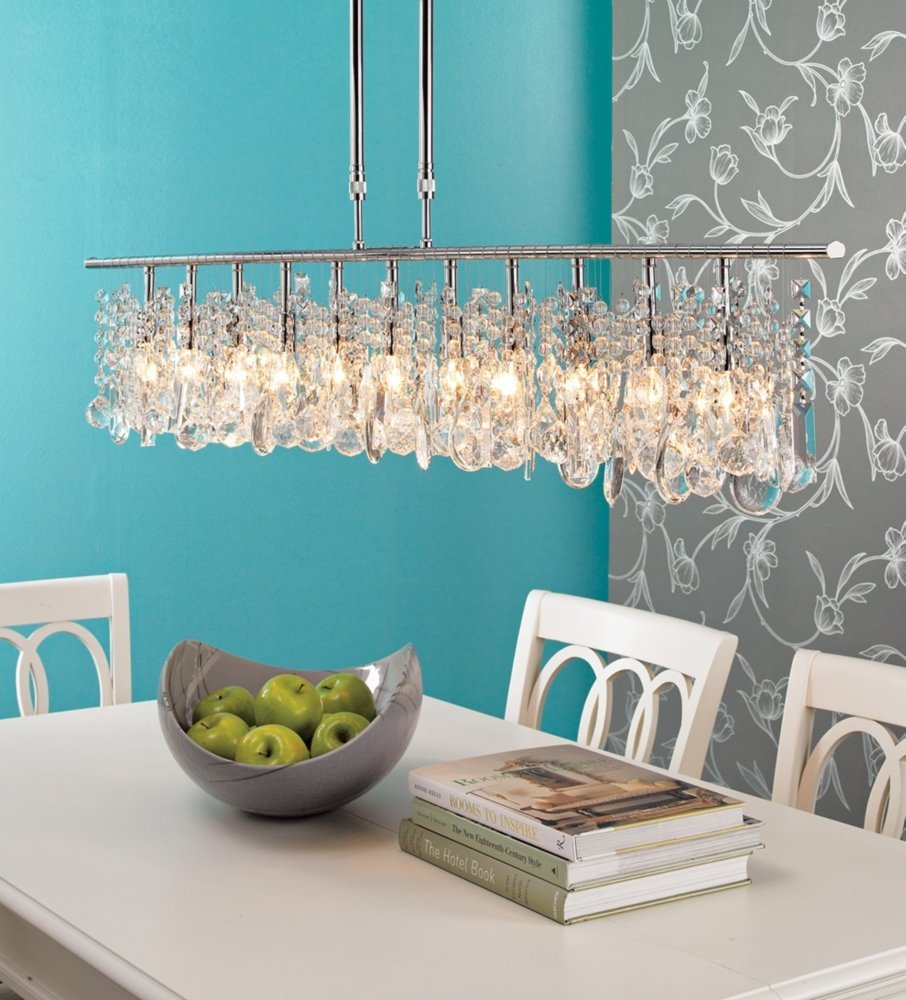 contemporary-glass-linear-chandelier-design