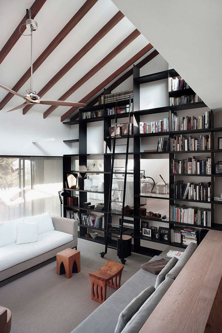 high-ceiling-living-room-ideas