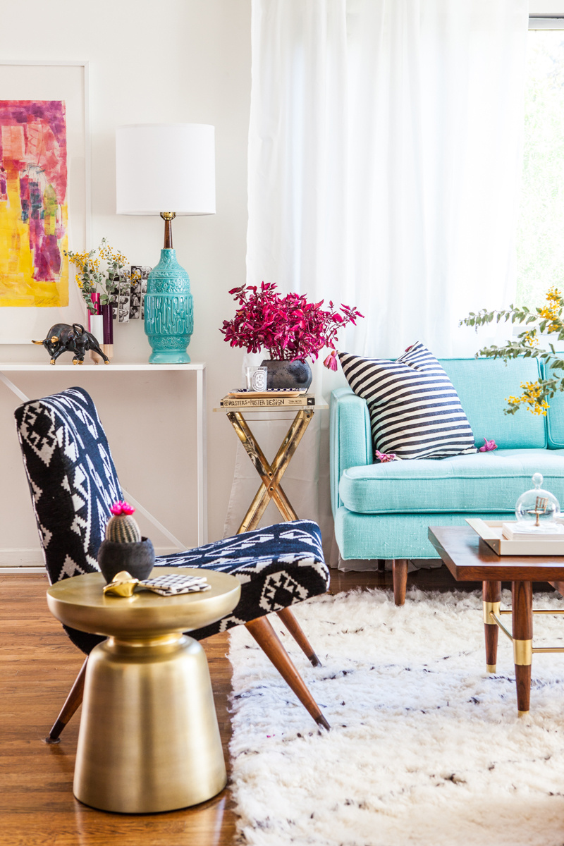 Bold Colorful Room