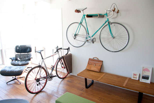 Minimalist Indoor Bike Racks