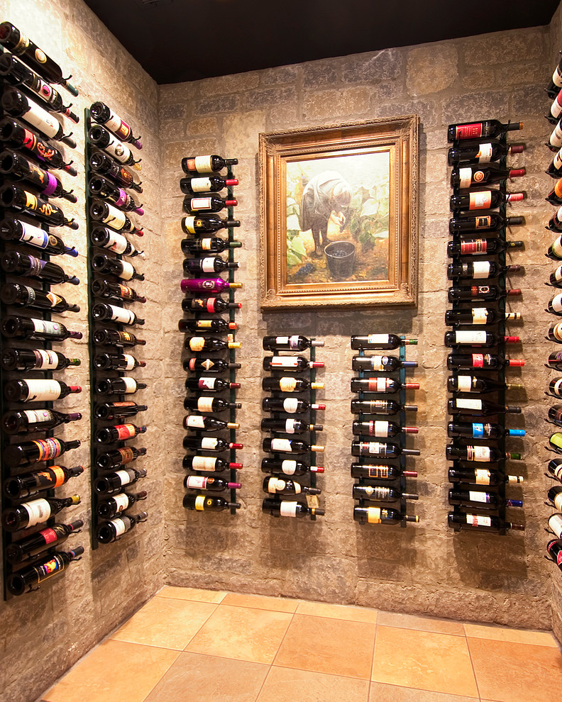 Phenomenal-Wall-Mount-Wood-Wine-Rack-Decorating-Ideas