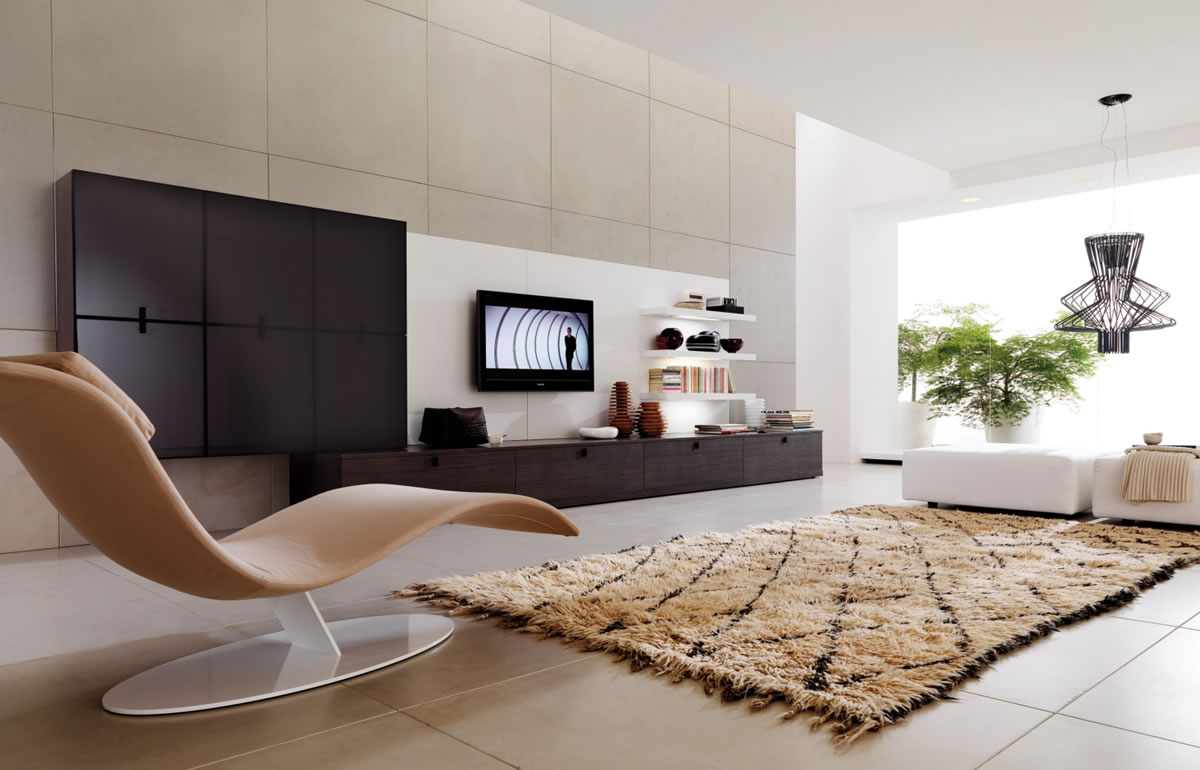 Sleek Modern Living Room