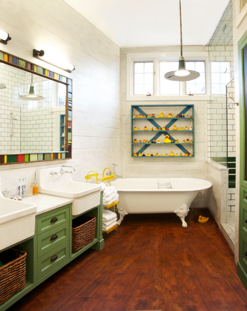 Whimsical Eclectic Bathroom