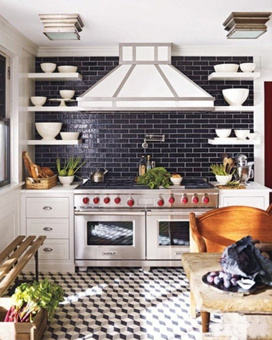 black subway tile 3