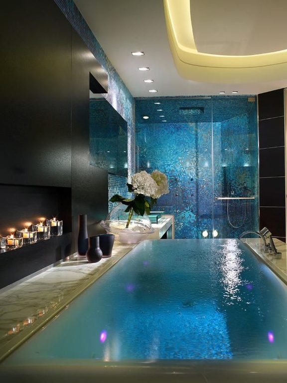 contemporary-master-bathroom-with-bathroom-tile-and-tile-shower