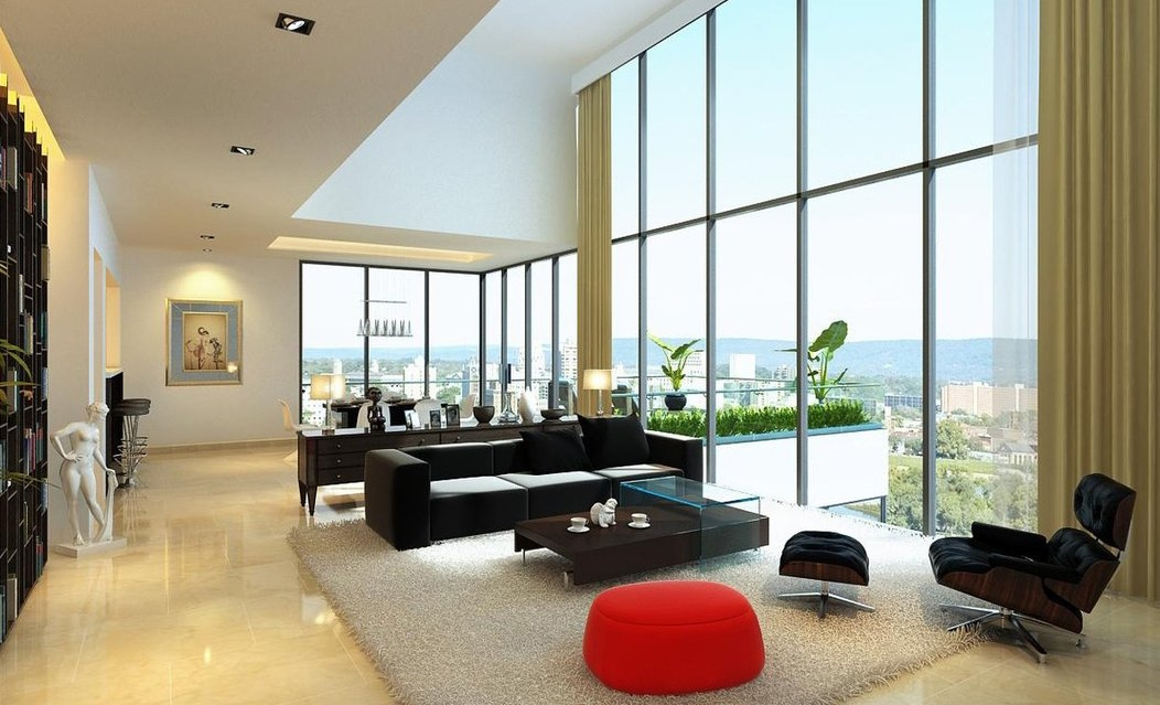 Apartment-Living-Room-at-Beautiful-Modern-Living-Room-Ideas