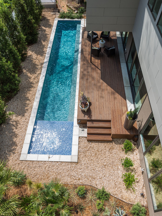 Beautiful Backyard Pools With And Without Loungers