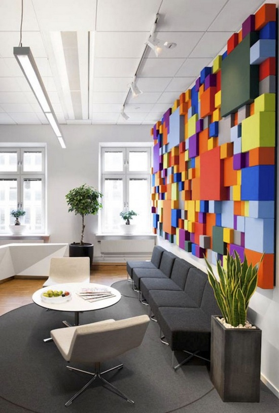 Color-Interior-Art-of-rainbow-Office