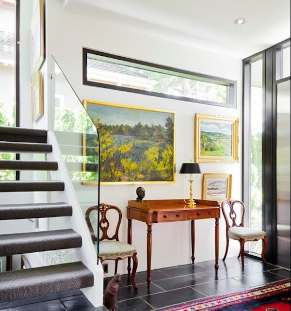 Decorate your landing and surrounding stairwell areas