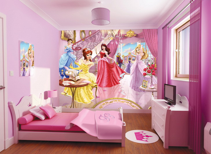 Fairy Girls Bedroom Kids Room