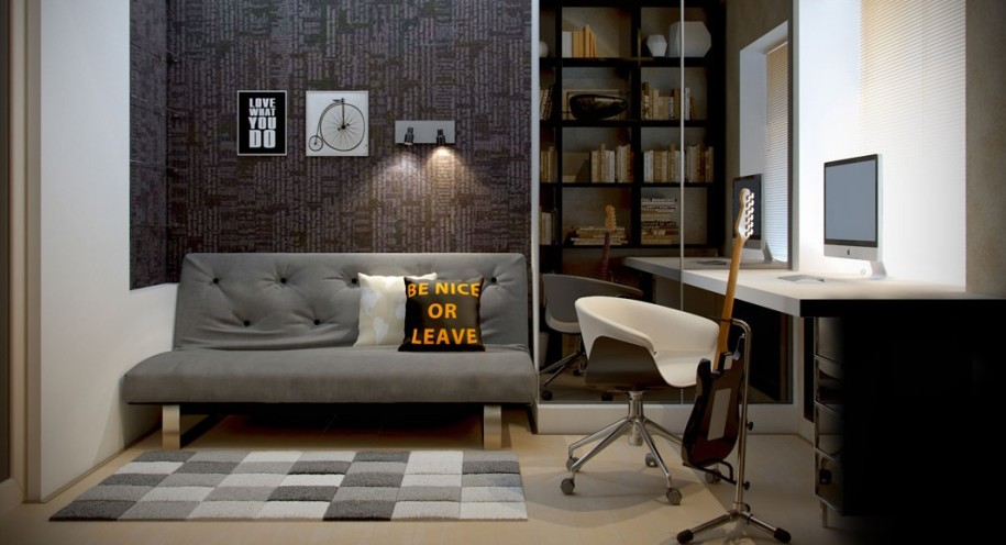 Home Office Ideas For Men