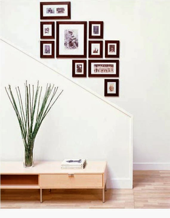 Modern-Staircase-Wall-Decorating-Ideas