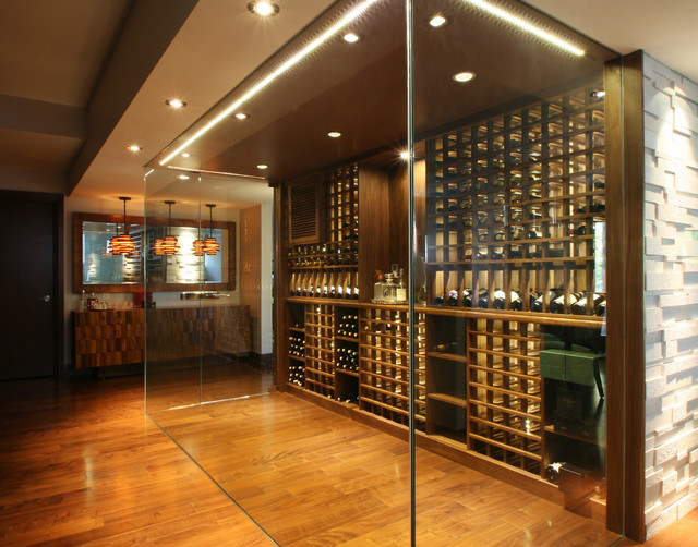 Modern Wine Cellar Design Ideas