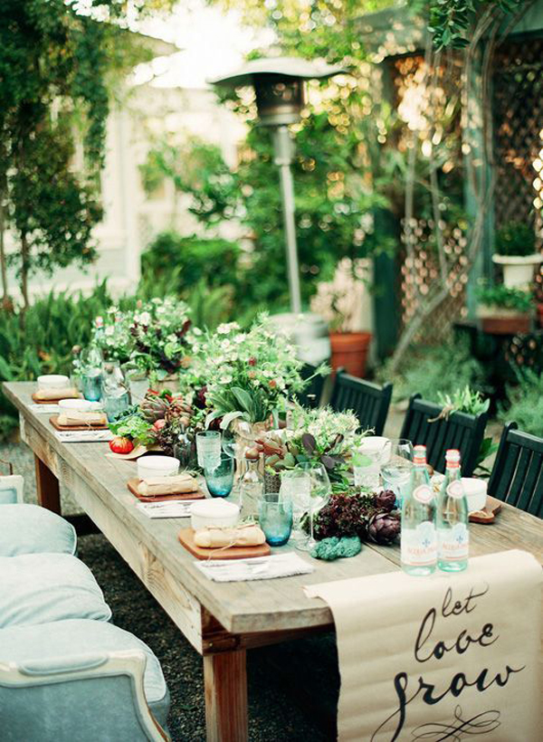 Outdoor Bohemian Dining Room Ideas