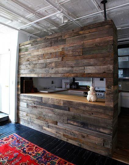 Reclaimed Wood In Kitchen