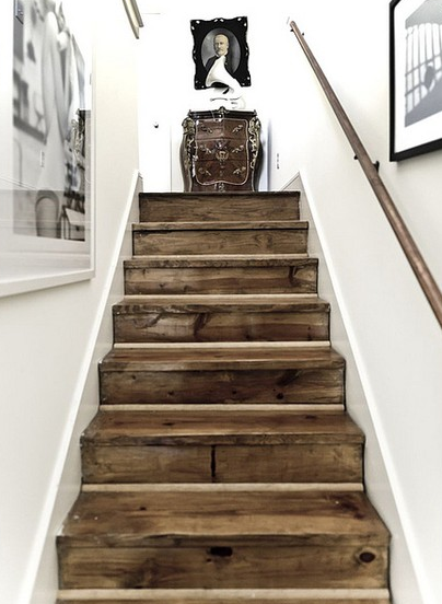 Stairs Reclaimed Wood