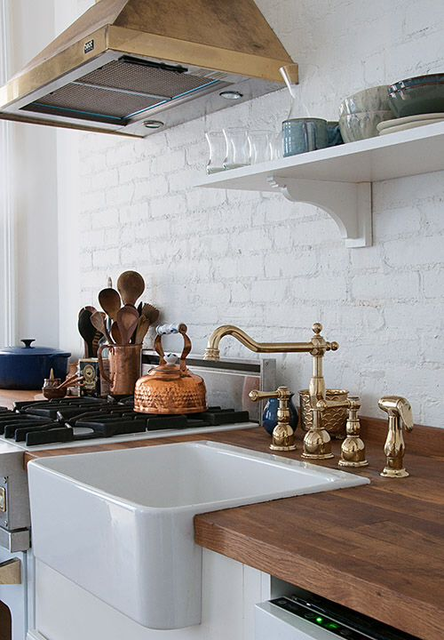Traditional-brass-kitchen