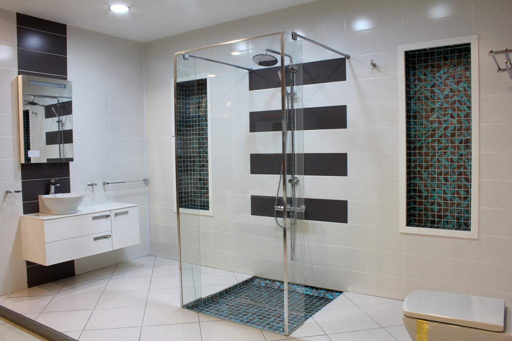 bathroom decoration with granite