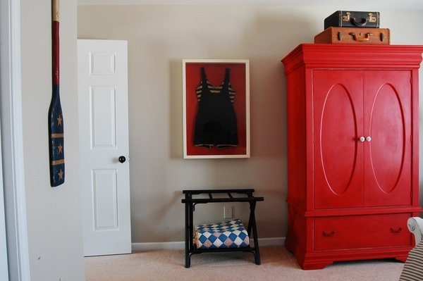 kids bedroom furniture red wardrobe armoire