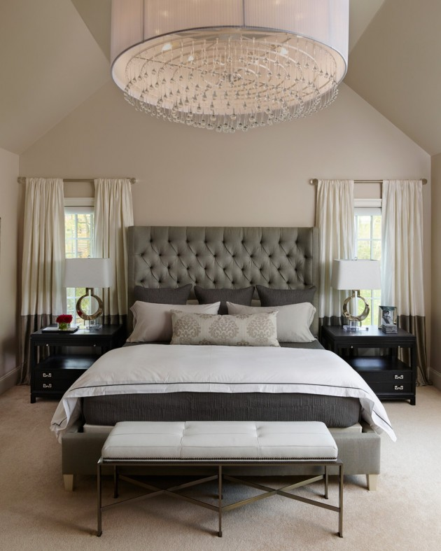 Delightful Transitional Bedroom