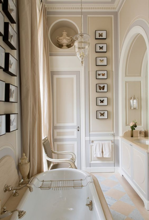 Elegant Powder Rooms