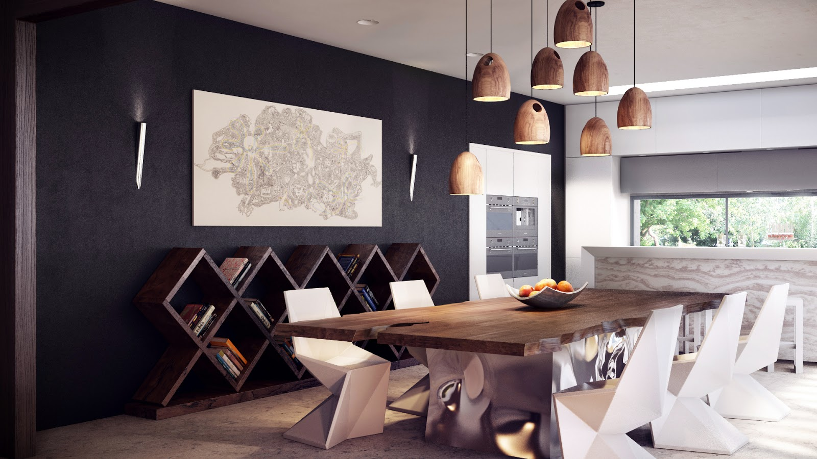 Extraordinary Contemporary Dining Table Ideas for You Dining Room