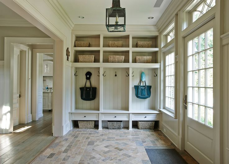 Gorgeous mudroom