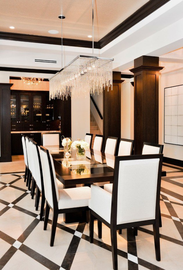 High-End-Contemporary-Dining-Room-Designs