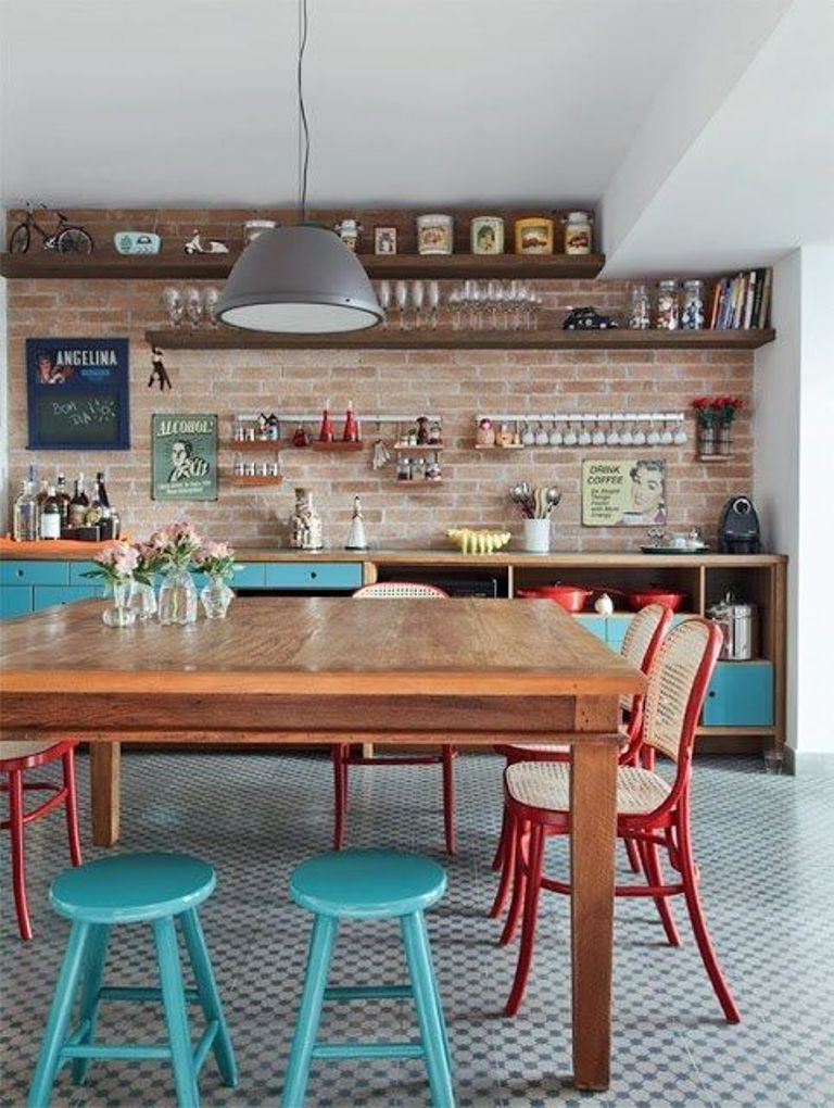 Inspiring Eclectic Kitchen Design