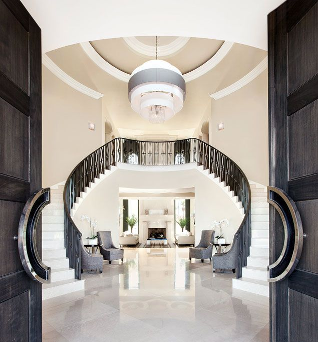 Luxury Foyer Decorating And Design Ideas (10)