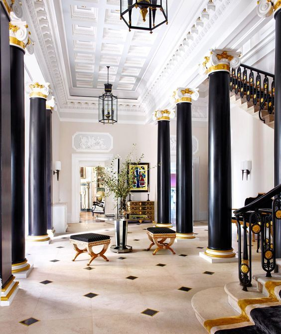 Luxury Foyer Decorating And Design Ideas (12)