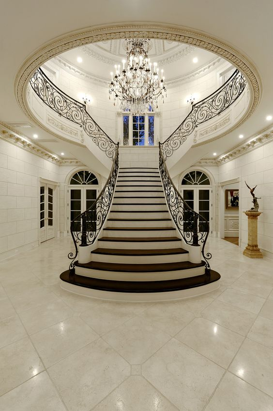 Luxury Foyer Decorating And Design Ideas (15)