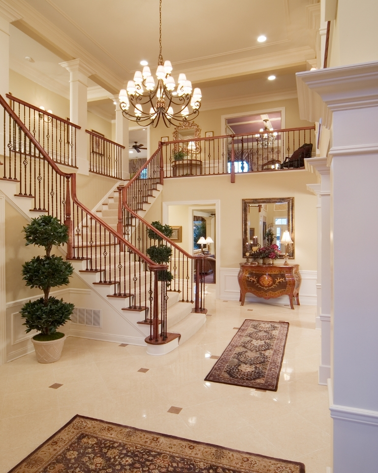 Luxury Foyer Decorating And Design Ideas (17)