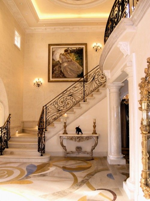 Luxury Foyer Decorating And Design Ideas (21)