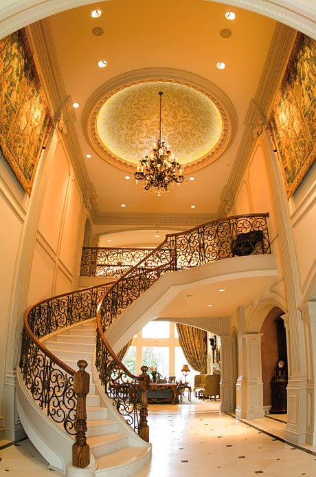 Luxury Foyer Decorating And Design Ideas (3)