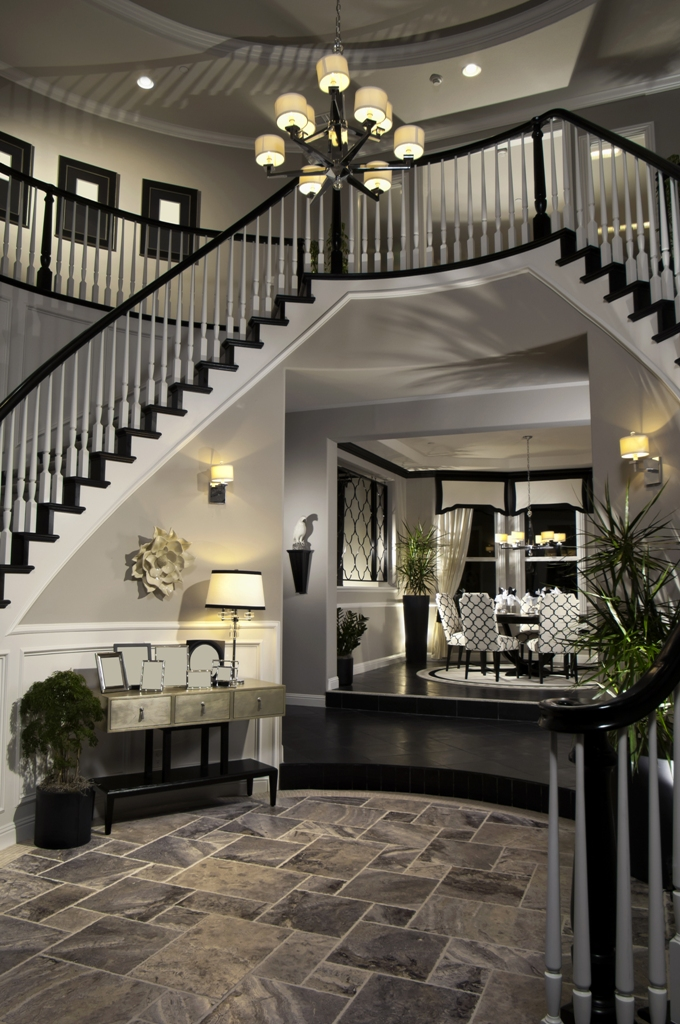 Luxury Foyer Decorating And Design Ideas (4)