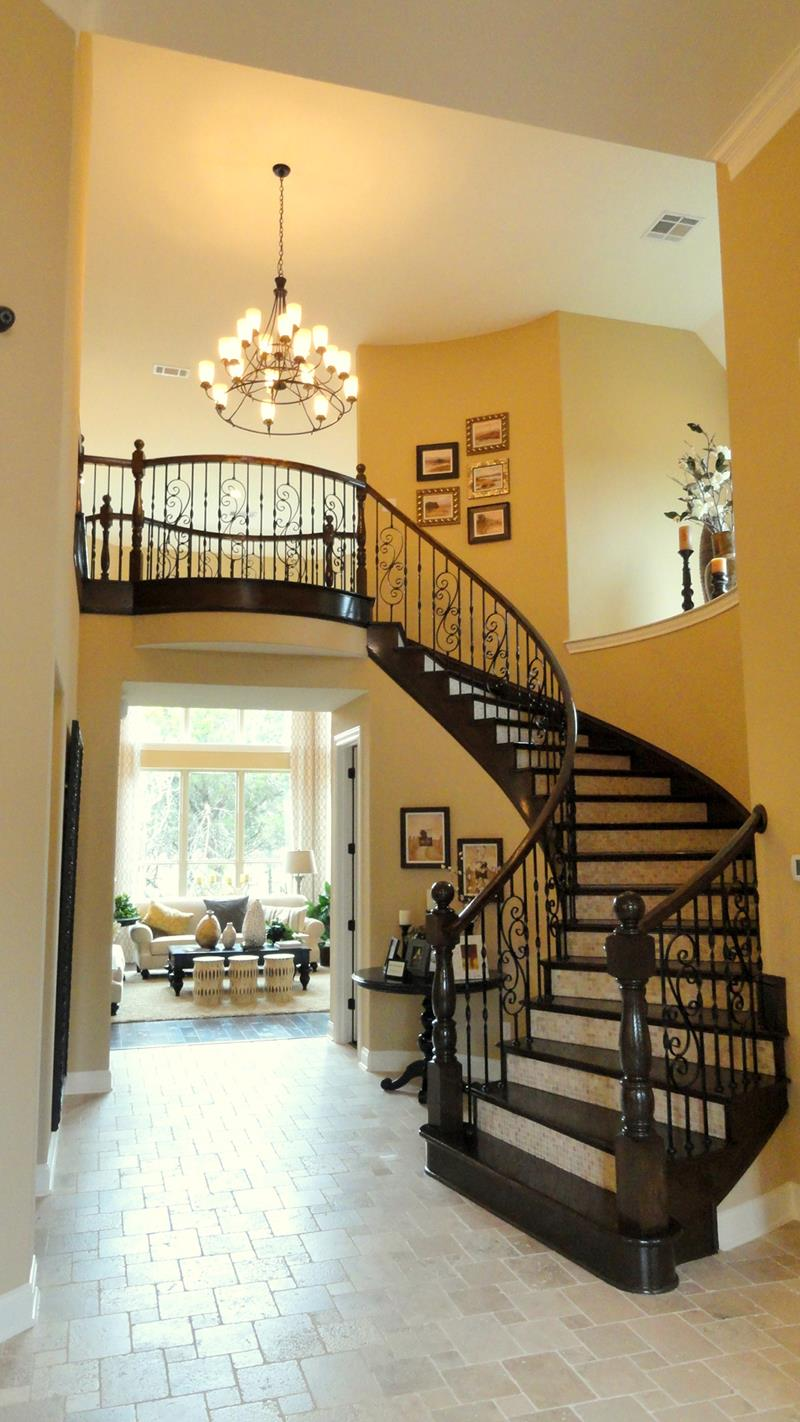 Luxury Foyer Decorating And Design Ideas (6)