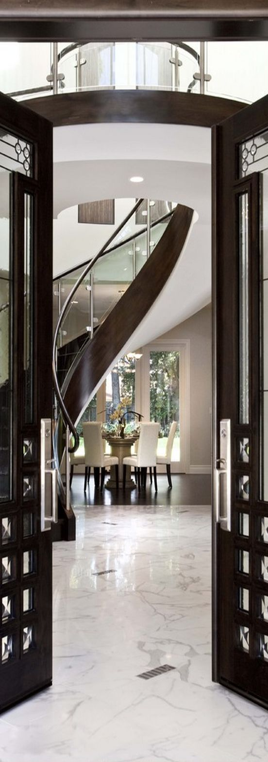 Luxury Foyer Decorating And Design Ideas (9)