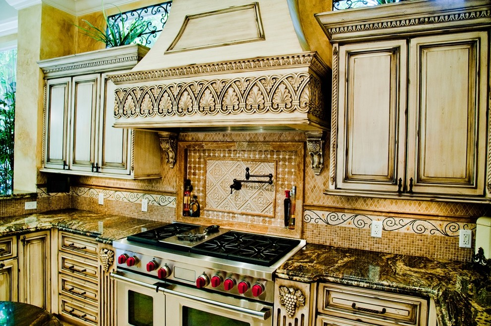 Mediterranean-with-Bright-kitchen-Carpentry-classic