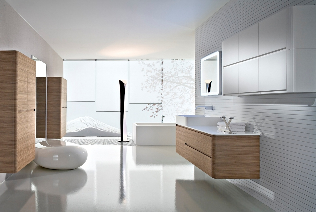 Minimalist and Modern Bathroom Design