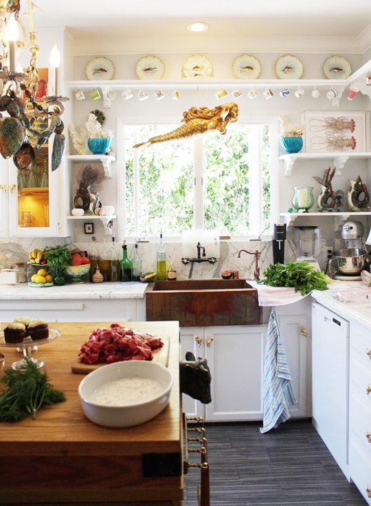 Opulent Eclectic Kitchen