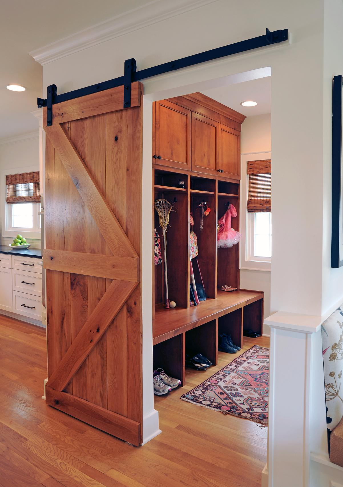 Small Mudroom Storage